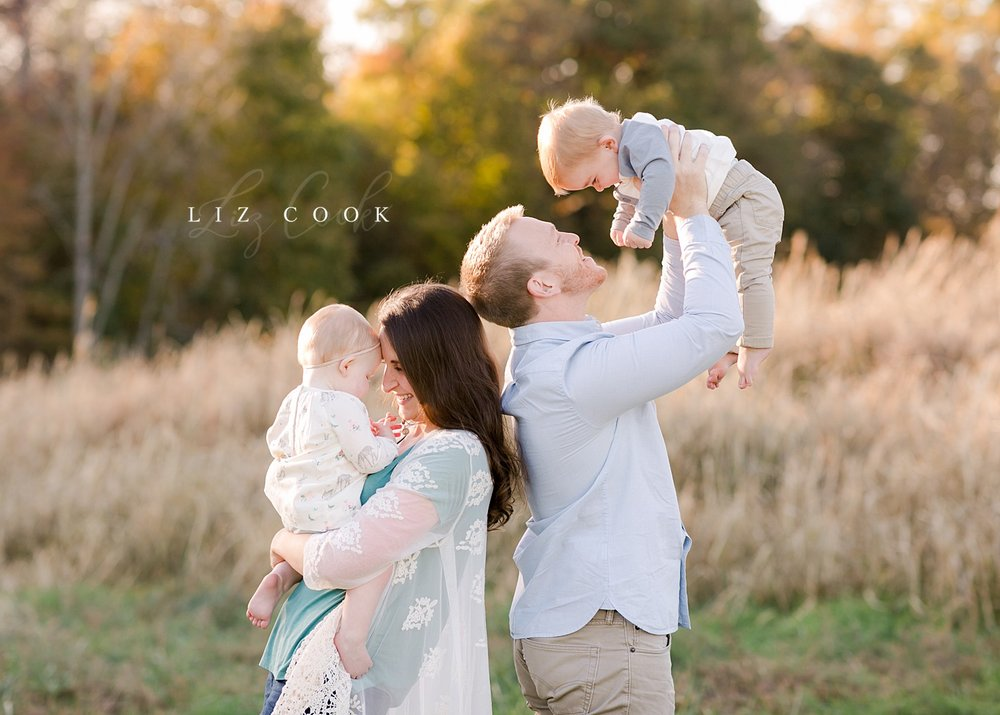 Foster & Charlotte - First Birthday Session