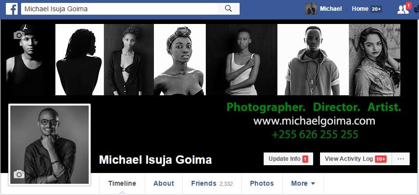 Facebook header.