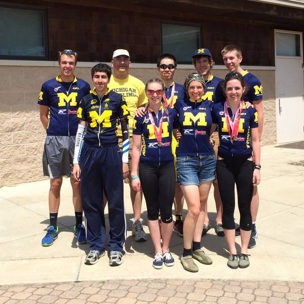 The team at MWCCC championships on April 27, 2014.