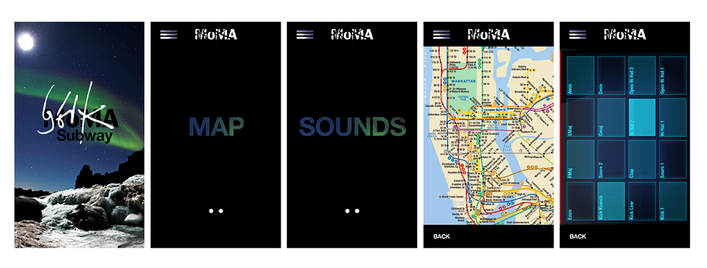 Bjork Subway Song Mixer App