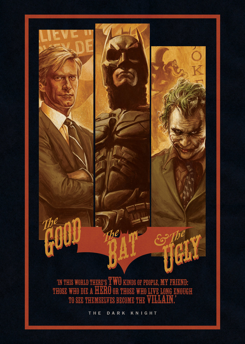 The Good, The Bat and the Ugly