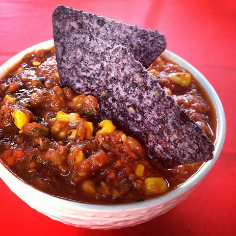 Spicy Salsa with Corn