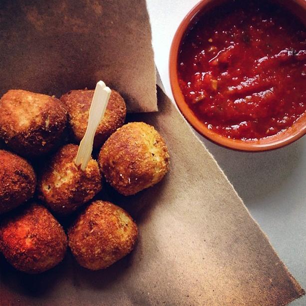 Spicy Ricotta Balls