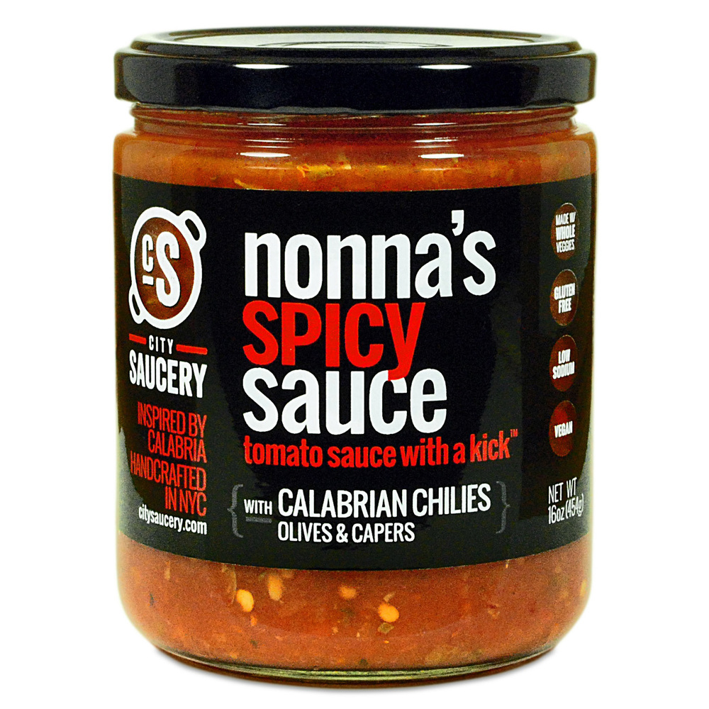 NONNA'S SPICY SAUCE 16oz BY CITY SAUCERY