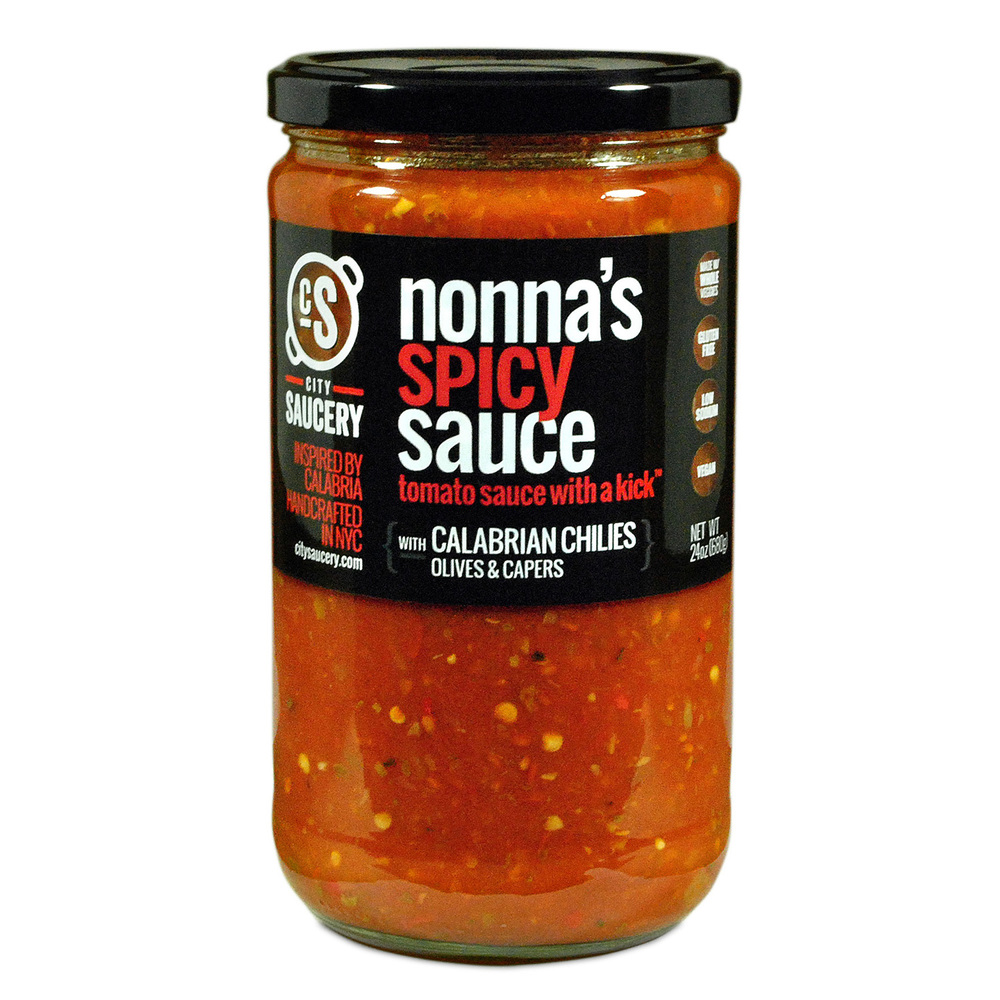 Nonna's Spicy Sauce 24oz.