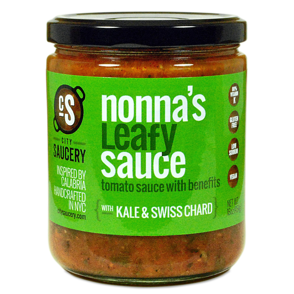 NONNA'S LEAFY SAUCE BY CITY SAUCERY