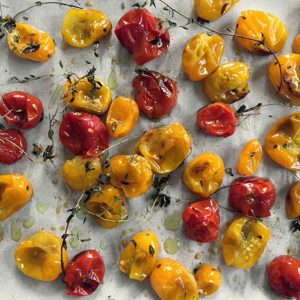 Cherry tomatoes are nature's candy