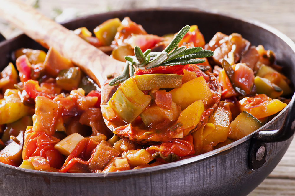 Chop-Chop Ratatouille. © City Saucery