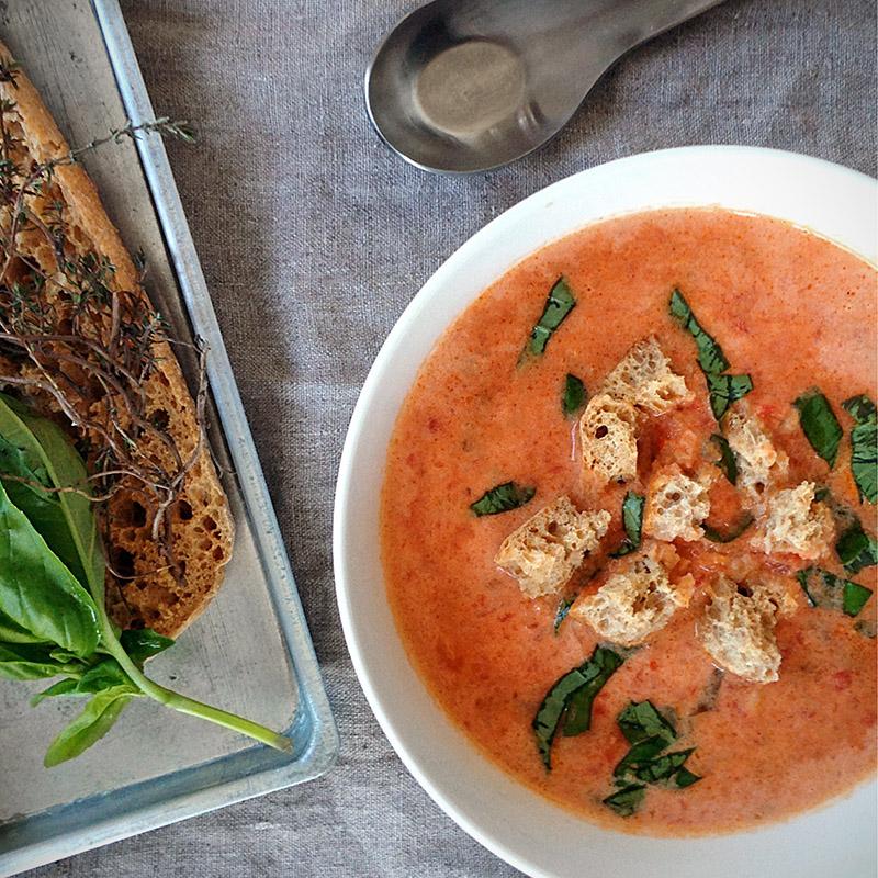 Nonna's Creamy Tomato Soup