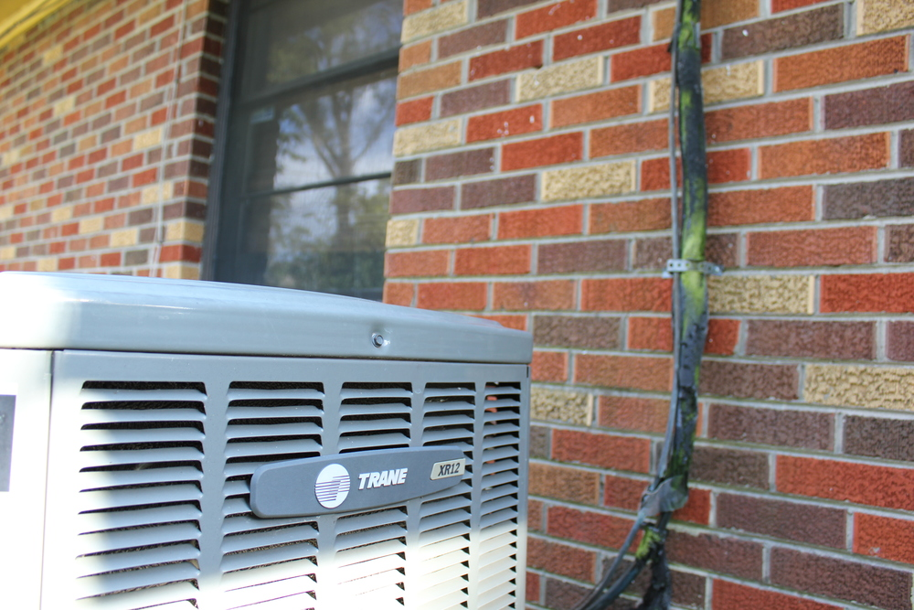 trane xb12 air conditioner in houston's oak forest