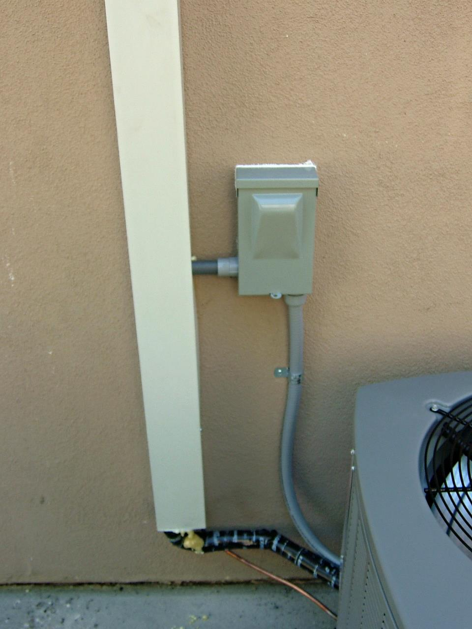 Line Set cover for an air conditioning system