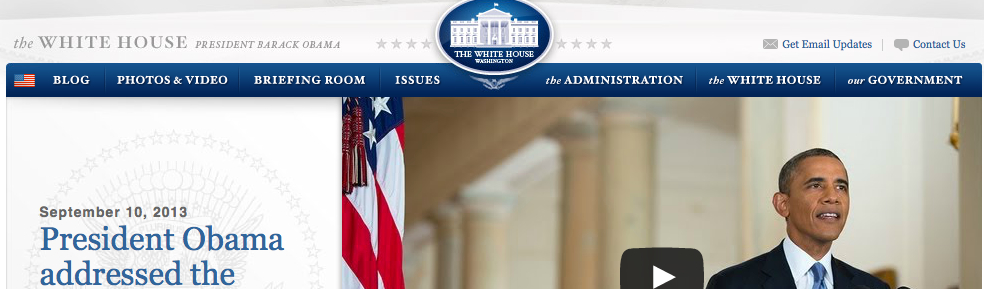 What can the executive branch tell us about how energy efficient the white house is?