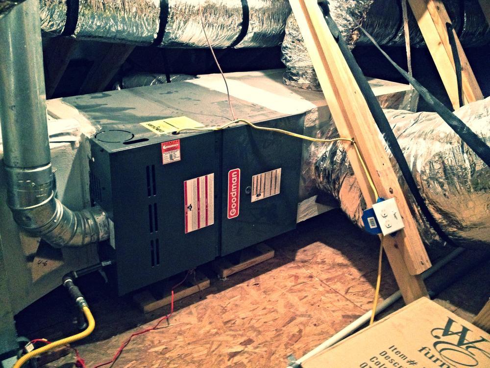 Air Conditioning Service  Frozen Ac Unit