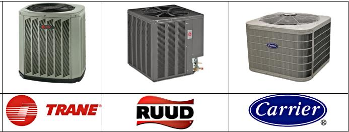 trane vs ruud vs carrier 14 seer ac units