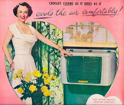Old School Air Conditioning Advertisements