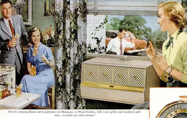 Vintage Air Conditioning Advertisement