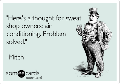 Industrial Revolution and air conditioning