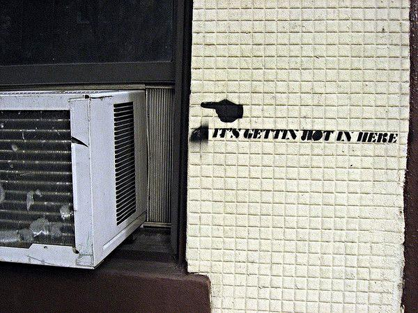 ac art graffiti air conditioner