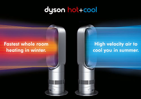 dyson hot and cool