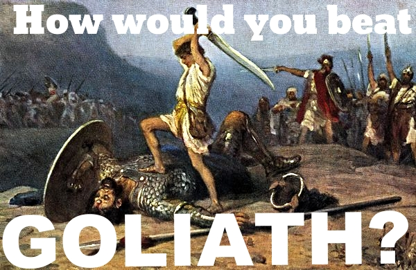 how would you beat golaith? HVAC contractors