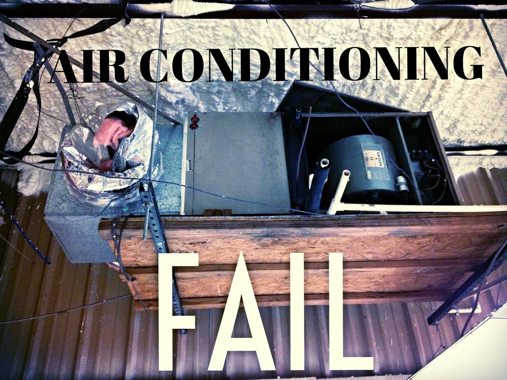 air conditioning fail