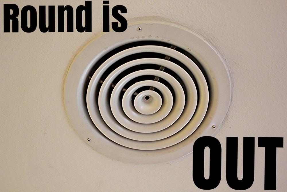 Round Duct Register diffuser - gotta go