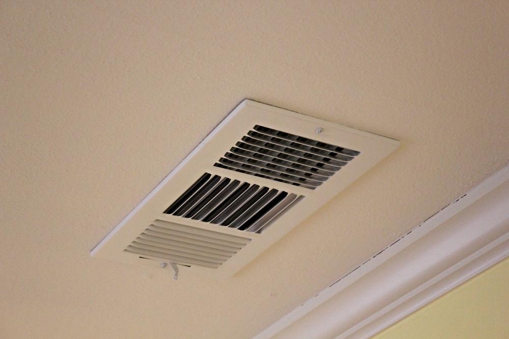 Rectangular three way air diffuser register