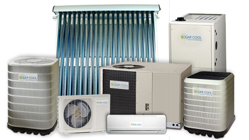 solar cool HVAC system componenants