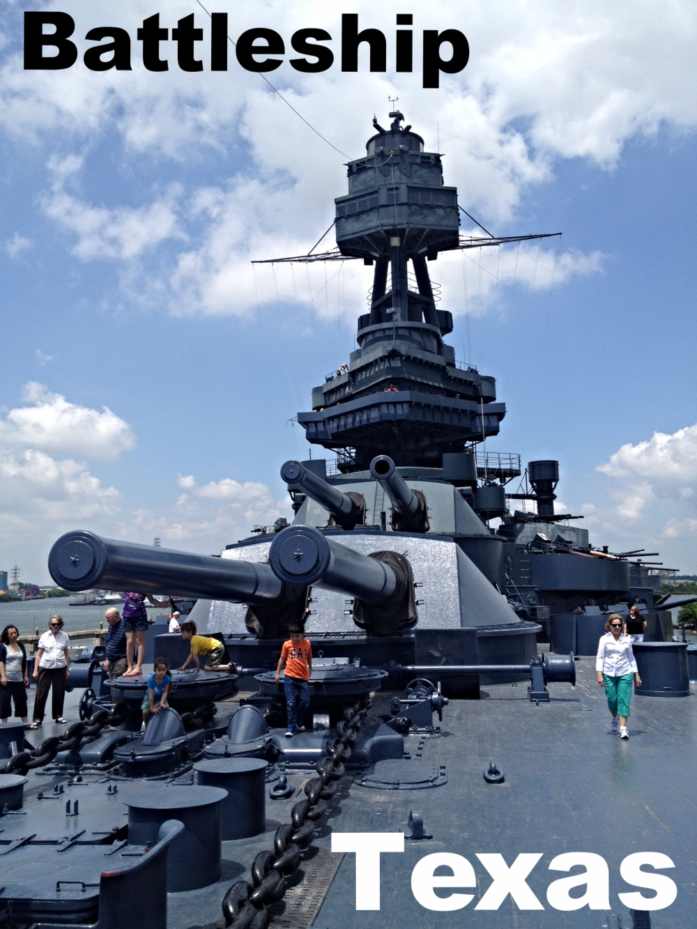 What A C Brand Does Battleship Texas Use