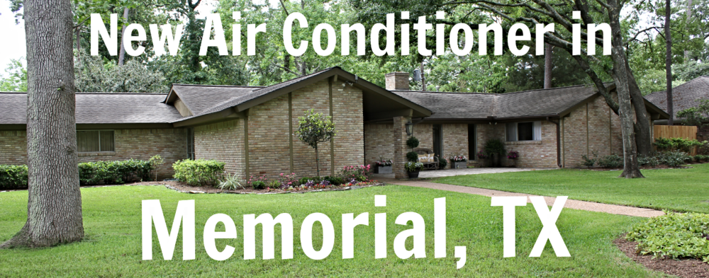 ac installation in memorial tx