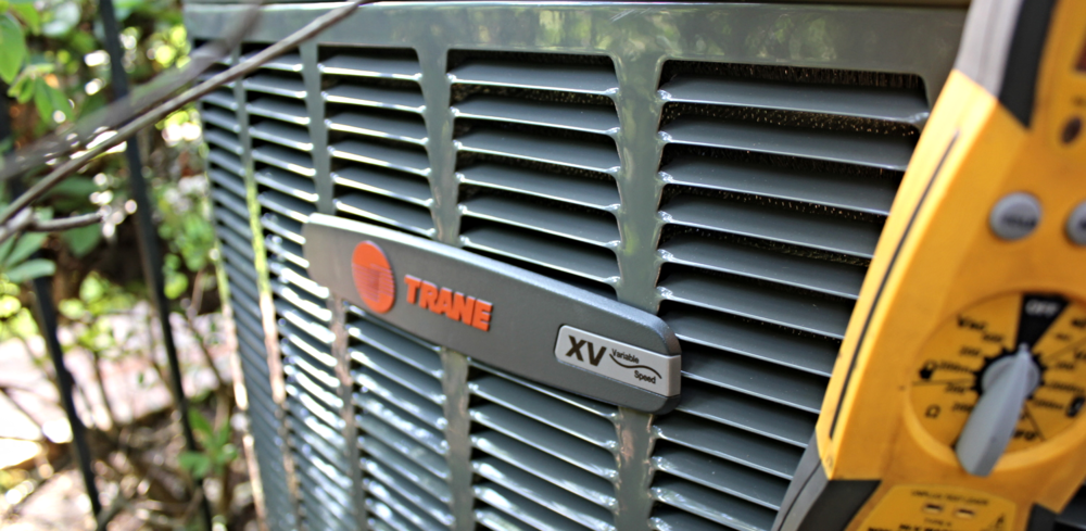 XV18 Trane Air Conditioner installed in 2014