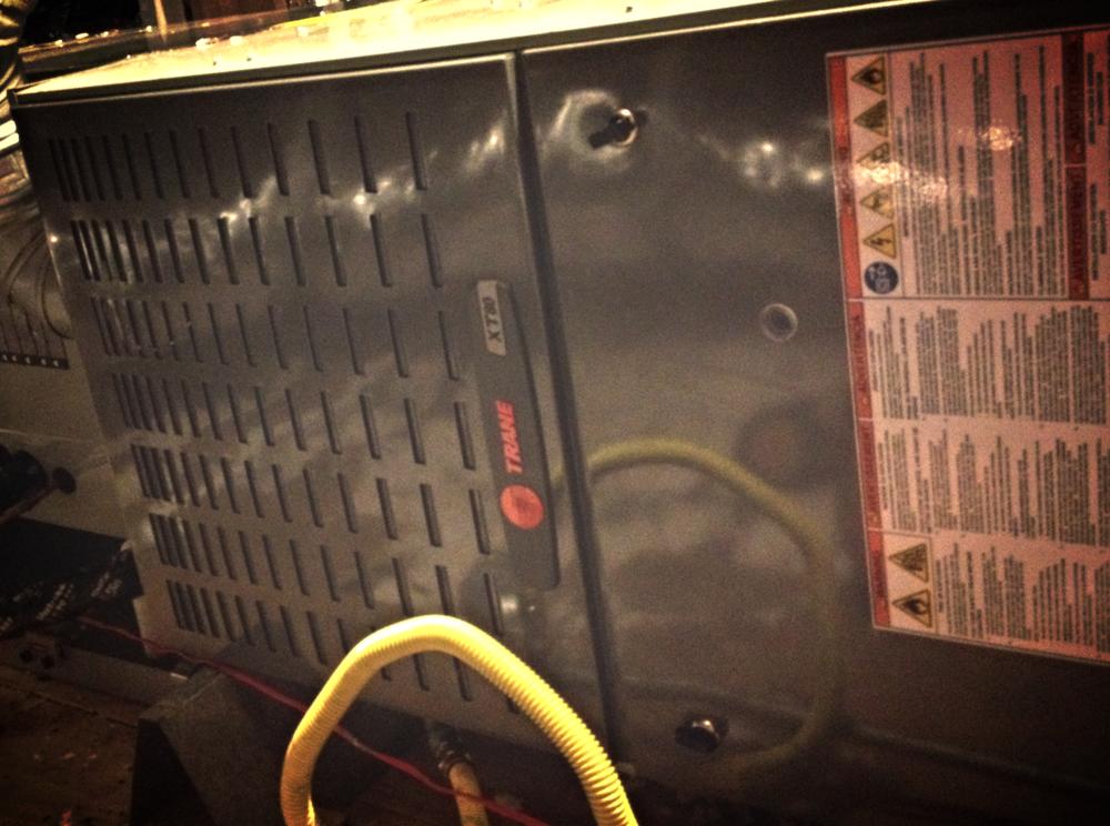 Trane XB 16 HVAC system