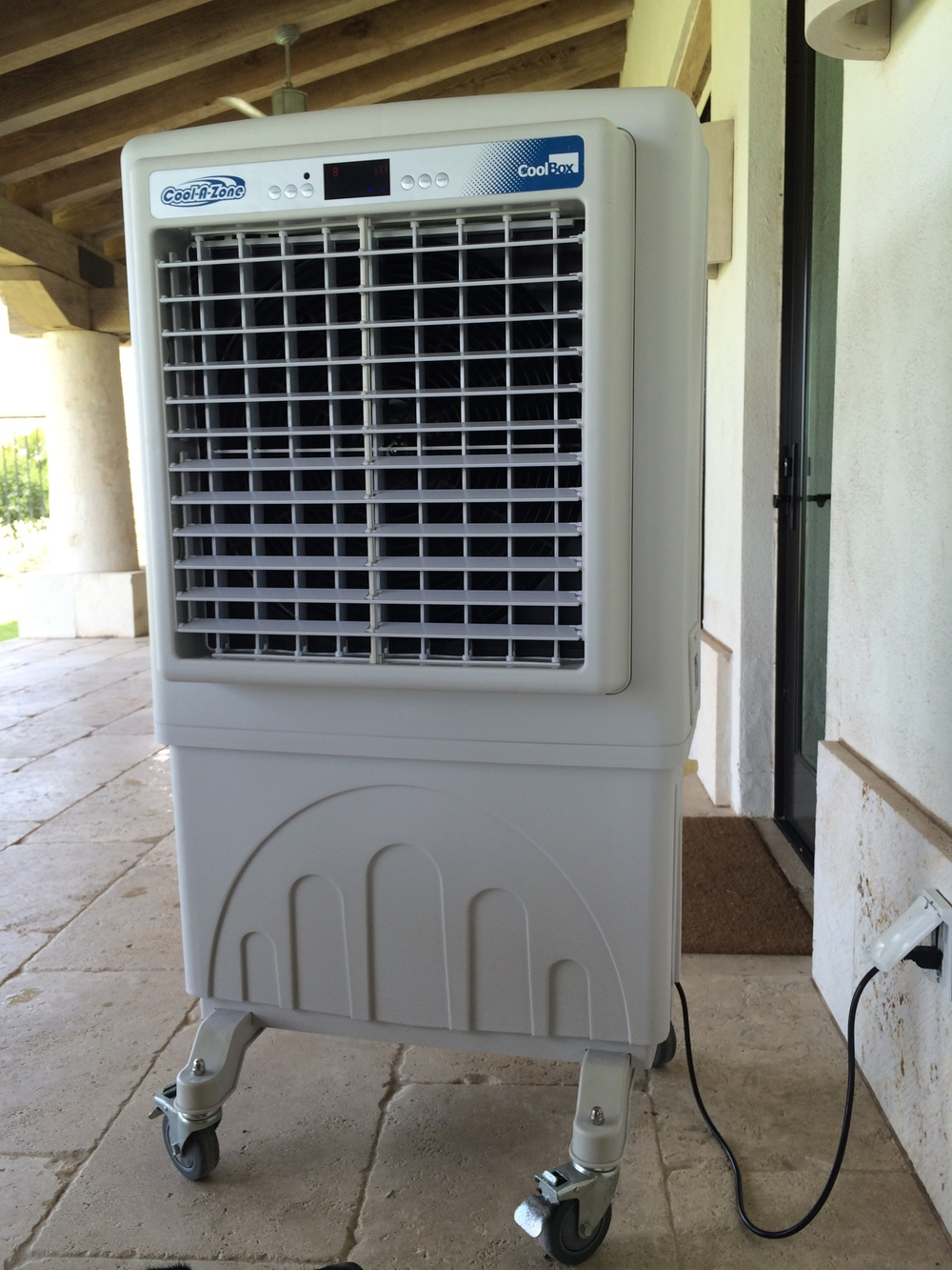 Space Cooling with Cool-A-Zone - Outdoor A/C