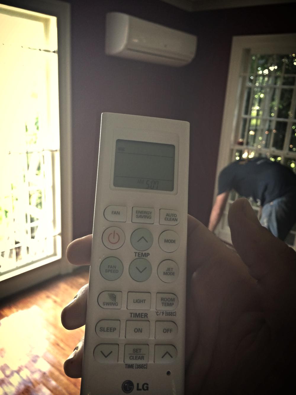remote for LG mini Split