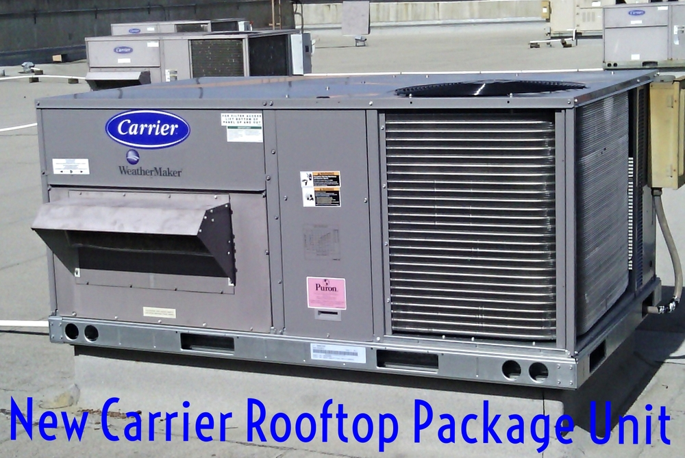 Carrier Rooftop Package Unit Sugarland TX