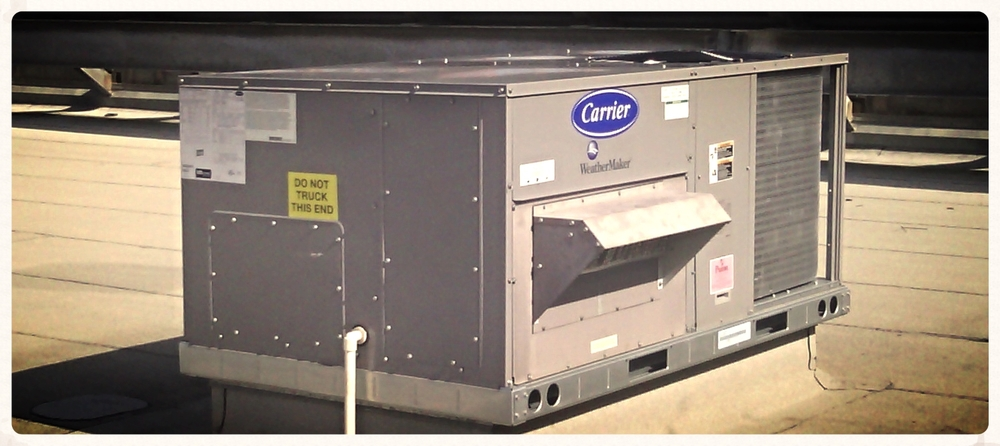 Carrier Package Unit Installed by Mission Air Conditioning