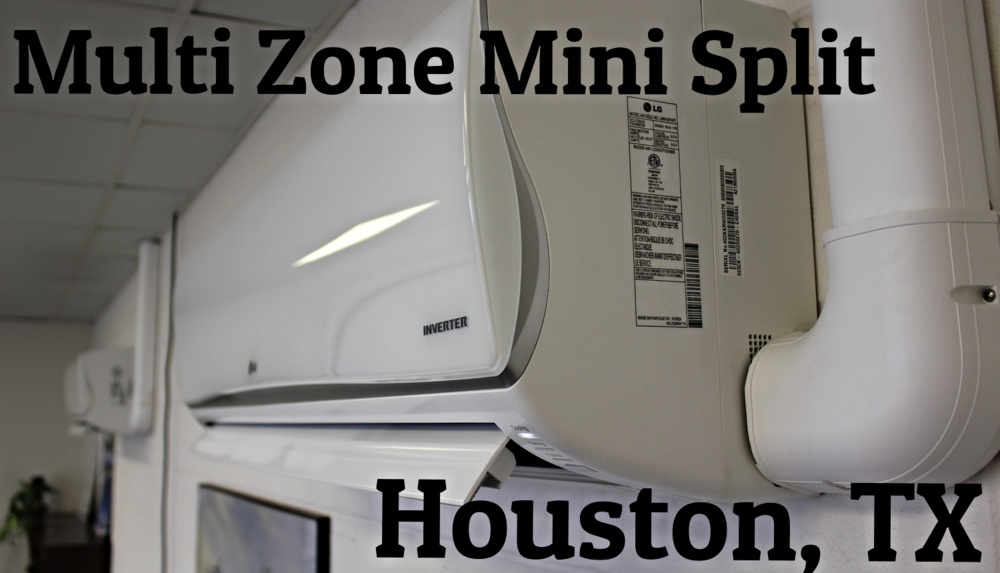 Multi Port Mini Split Installer Company Houston