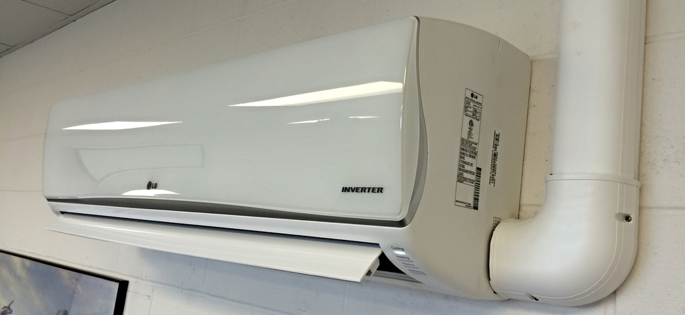 LG Inverter driven heat pump air handler