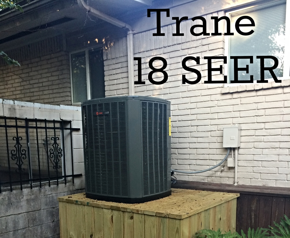 Trane XV18 Installation Houston TX