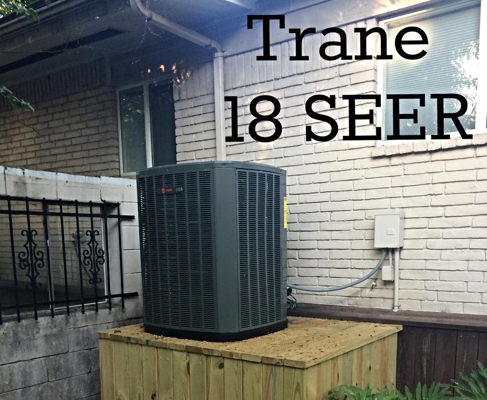 Trane XV18 Installation Houston TX