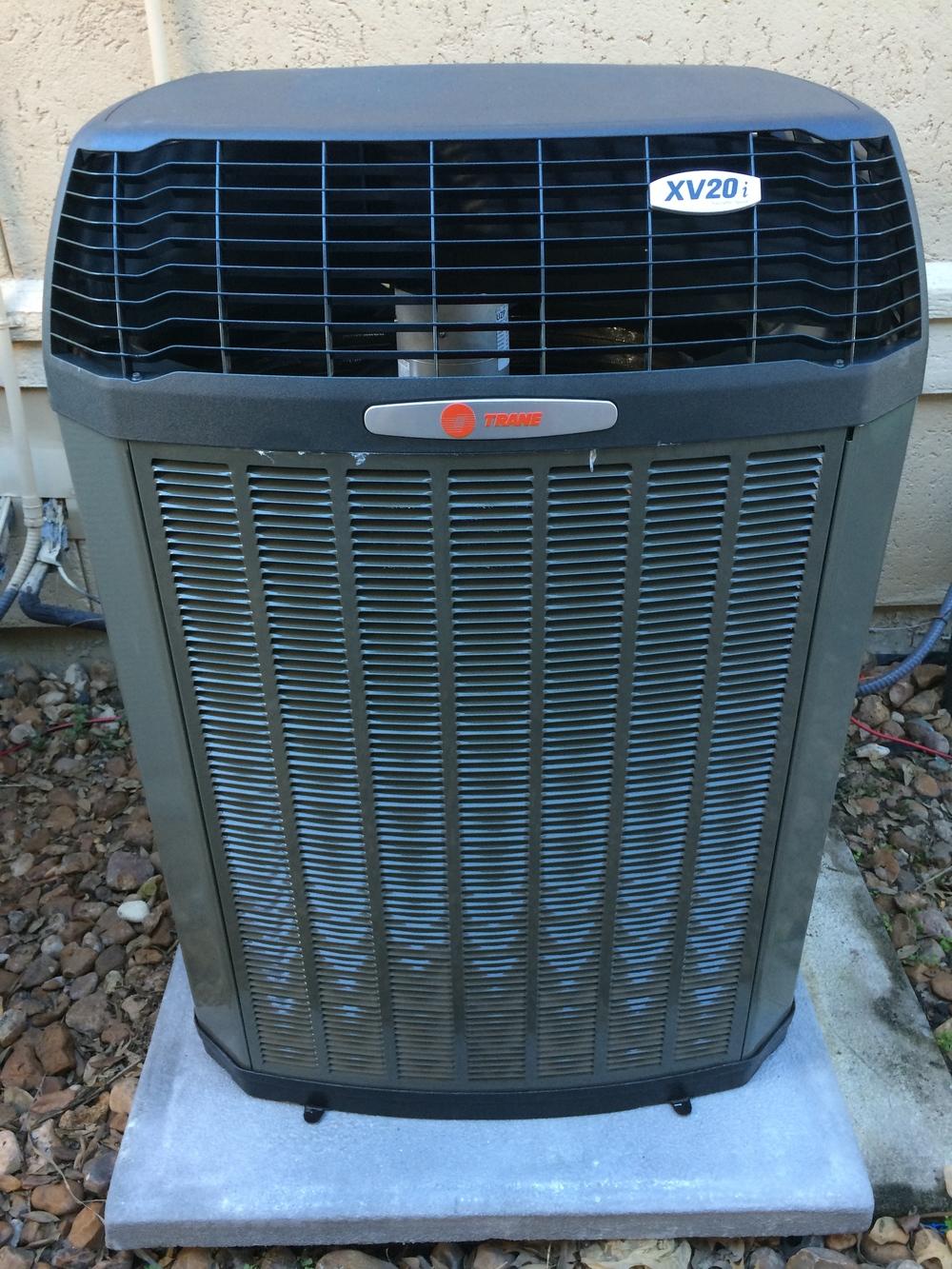 Trane XV20i Condenser installed Houston, TX