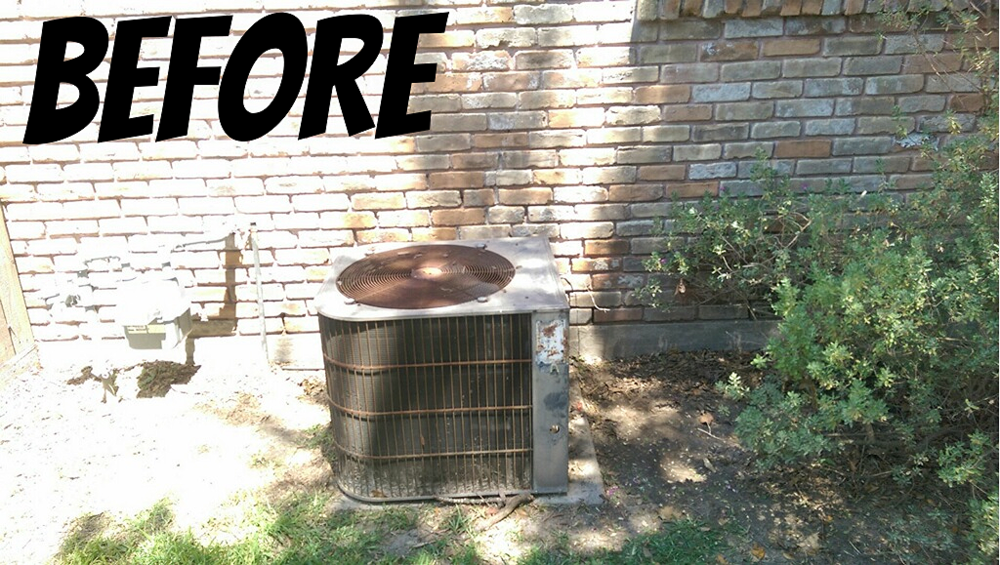 Before Amp After Trane Xr14