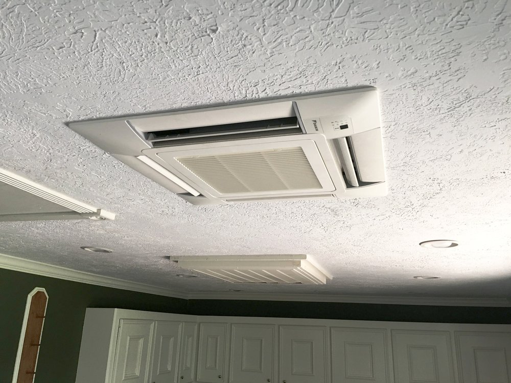 Ceiling Casette Mini Split