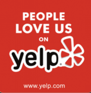 Check out Our Perfect 5-star Rating on Yelp!