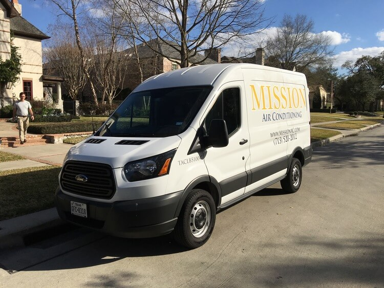 Mission Air Conditioning Vehicle
