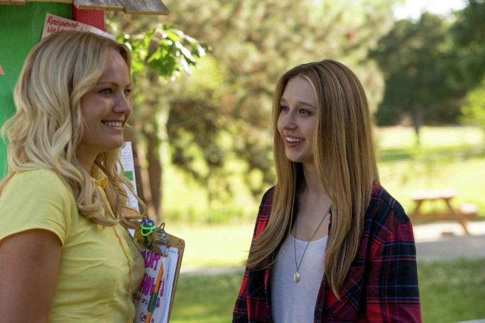 Max, meeting her mother as her slasher film incarnation
