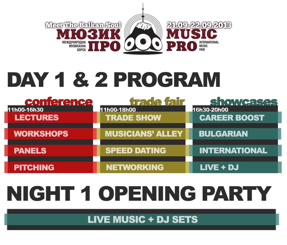 MusicPRO flyer