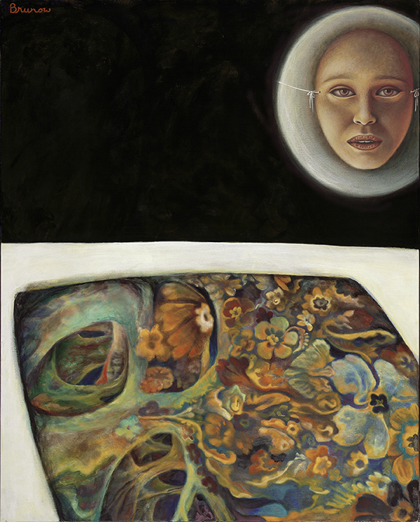 "Magic Carpet - 60"" x 48"" - Acrylic on Canvas - $3,500"