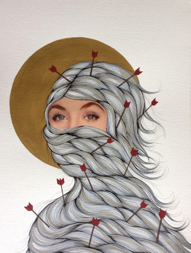 Hannah Dansie – A Prayer For Thicker Skin - $450