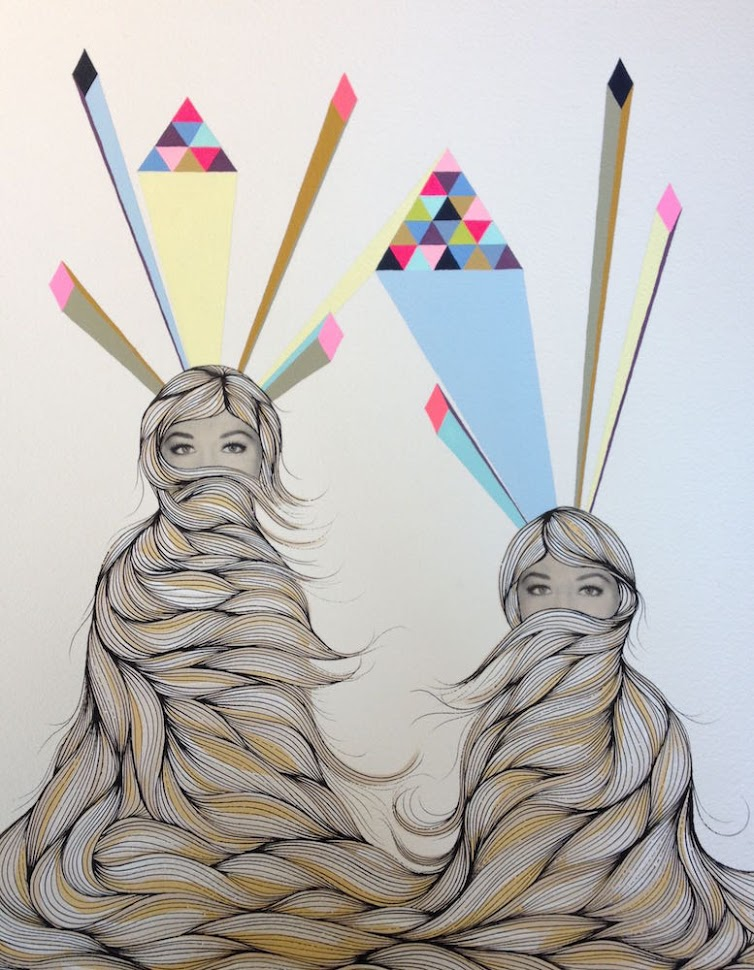 Hannah Dansie – The Twins - $450
